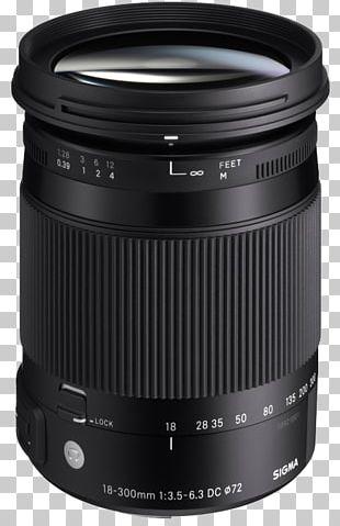Sigma 18-300mm F/3.5-6.3 DC Macro OS HSM Lens Sigma 30mm F/1.4 EX DC HSM Lens Camera Lens Sigma Corporation F-number PNG
