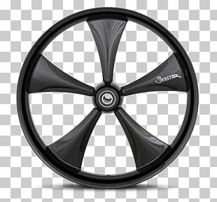 Wheel Graphite Rim Spoke Casting PNG