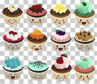 Cupcake Petit Four Muffin Cake Decorating Buttercream PNG