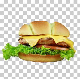Hamburger Fast Food Junk Food Cheeseburger Breakfast Sandwich PNG