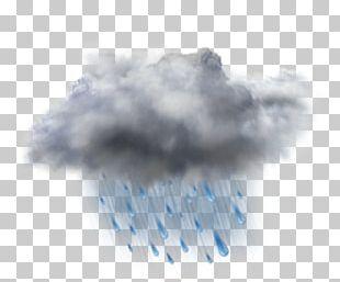 Rain Cloud Weather Forecasting Storm PNG