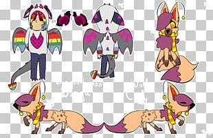 Horse Cartoon Character PNG