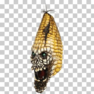 Halloween Costume Latex Mask Corn On The Cob PNG