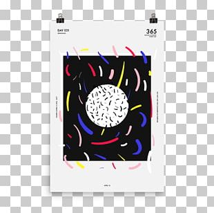 Motion Graphic Design Poster PNG
