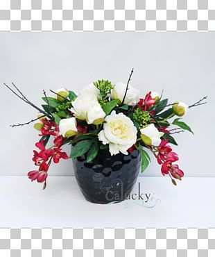 Floral Design Flower Bouquet Flowerpot Artificial Flower PNG
