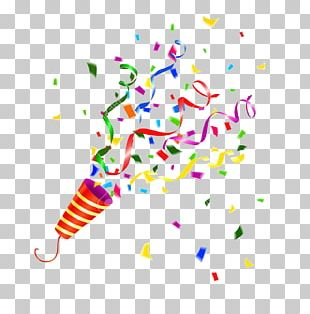 Party Popper Confetti Stock Photography PNG