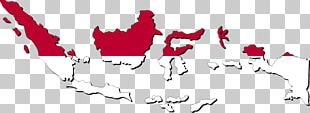 Flag Of Indonesia Globe Map PNG