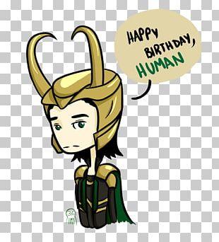 Loki Thor Drawing Birthday Fan Art PNG
