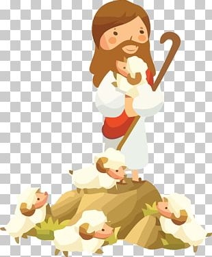 Sheep Drawing Parables Of Jesus PNG