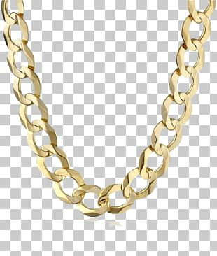 T-shirt Necklace Jewellery Gold Chain PNG