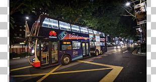 Double-decker Bus Singapore Public Transport Bus Service Coach PNG