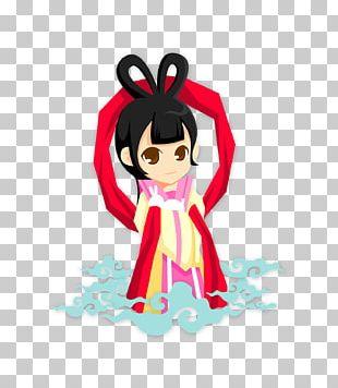 Mid-Autumn Festival Change Cartoon PNG