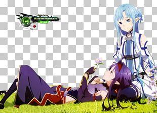 Asuna Kirito Sword Art Online Sinon PNG