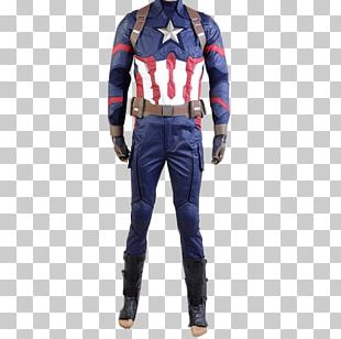 Captain America Spider-Man Costume Black Panther Cosplay PNG