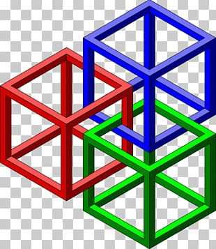 Geometry Geometric Shape Cube PNG
