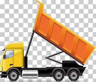 Car Dump Truck Illustration PNG