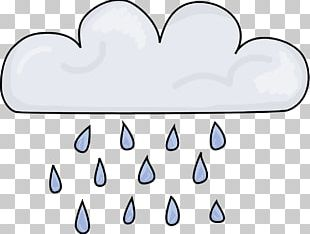 Cloud Weather Rain Drawing PNG