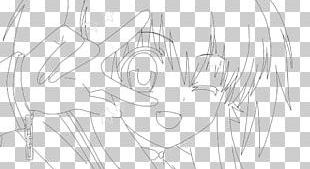 Line Art Mangaka Cartoon Sketch PNG