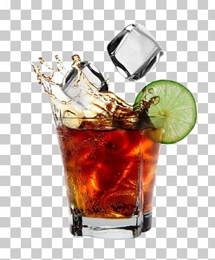 Rum And Coke Coca-Cola Cocktail PNG