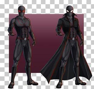 Spider-Man: Shattered Dimensions Iceman Spider-Man Noir Costume PNG