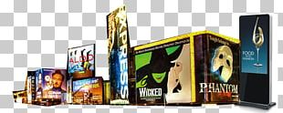Broadway New York City Advertising Yesup Media Inc. Theatre PNG
