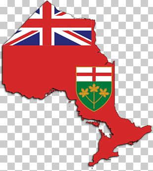 Flag Of Ontario Map Flag Of Canada National Flag PNG