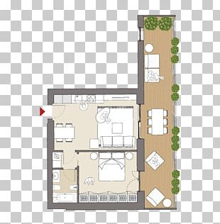 Planimetrics Floor Plan Residential Area Studio Apartment PNG