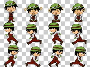Sprite Animation Character Video Game Development PNG
