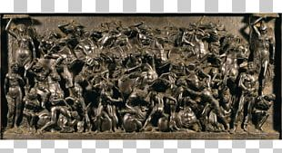 Bargello Casa Buonarroti Battle Of The Centaurs Battle Of Cascina Relief PNG