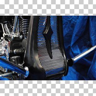 Car Motor Vehicle Spoilers Electric Blue Plastic Fiberglass PNG