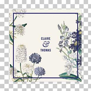 Wedding Invitation Paper Botanical Garden PNG