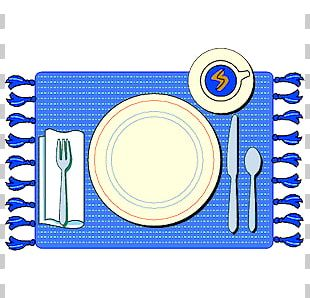 Table Setting Napkin Plate PNG