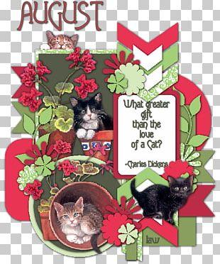 Jigsaw Puzzles Flowerpot Cat Floral Design PNG