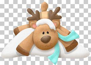 Rudolph Reindeer Christmas Santa Claus PNG