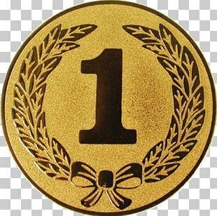 Gold Medal Award Silver Medal Emblem PNG