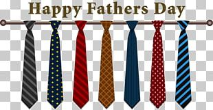 Happy Fathers Day Ties PNG