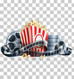 Popcorn Cinema Systems Corp. Film Reel PNG