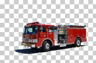 Fire Engine Motor Vehicle Fire Department Car PNG