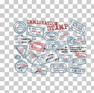 Rubber Stamp Passport Stamp Seal Postage Stamp PNG