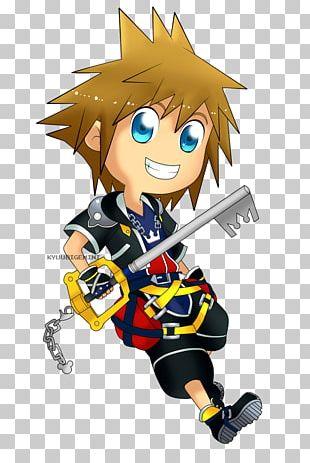 Kingdom Hearts II Sora Roxas Cloud Strife Riku PNG