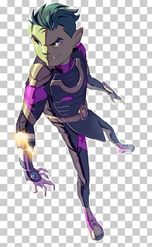 Beast Boy Raven Starfire Teen Titans Drawing PNG