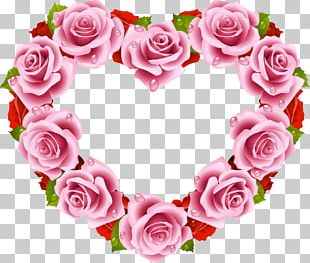 Rose Heart Flower Stock Photography PNG