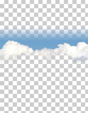 Sky Blue Cloud PNG