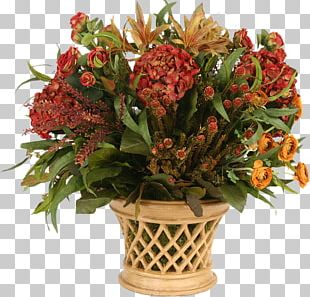 Floral Design Flowerpot Cut Flowers Flower Bouquet PNG