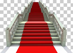 Stairs Red Carpet PNG