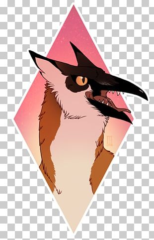 Cat Owl Pink M PNG
