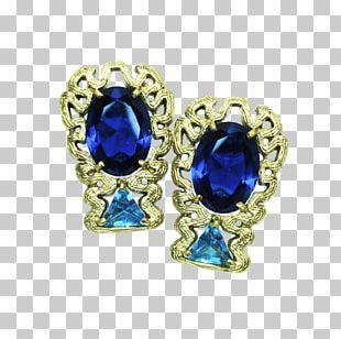 Earring Sapphire Jewellery Necklace Bracelet PNG