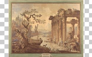 Landscape With Ruins A Panoramic Landscape J. Paul Getty Museum Landscape Painting Landscape With The Temptation Of Saint Anthony PNG