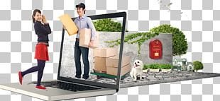 Paper Online Shopping Online And Offline E-commerce PNG