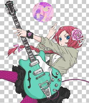 Anime Drawing Guitar Manga PNG